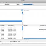 Schermata principale FileZilla